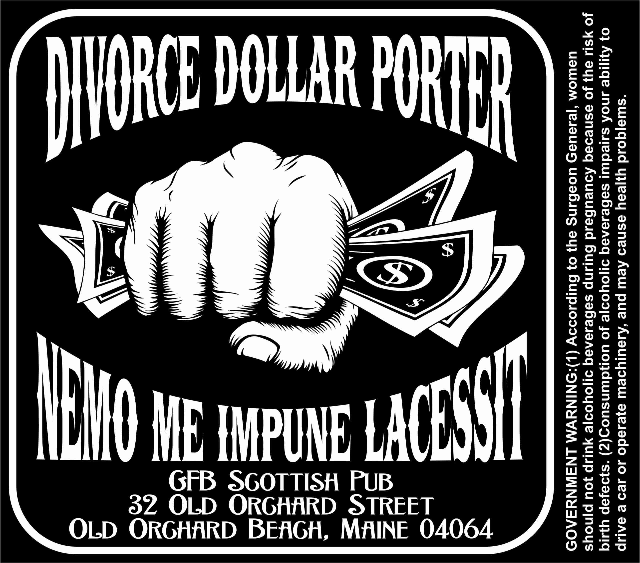 GFB Divorce Dollar Porter